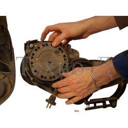 Ремонт катушки шнура или сетевого шнура питания пылесоса б/у