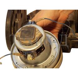 Замена двигателя пылесоса б/у