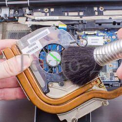 Полная чистка с заменой термопасты и смазкой вентилятора в ПК б/у