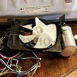 Замена вентилятора охлаждения микроволновой печи б/у