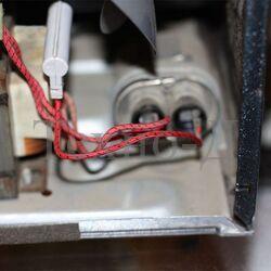 Замена конденсатора микроволновой печи б/у