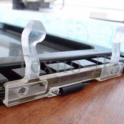 Замена или восстановление крючков дверцы микроволновой печи б/у